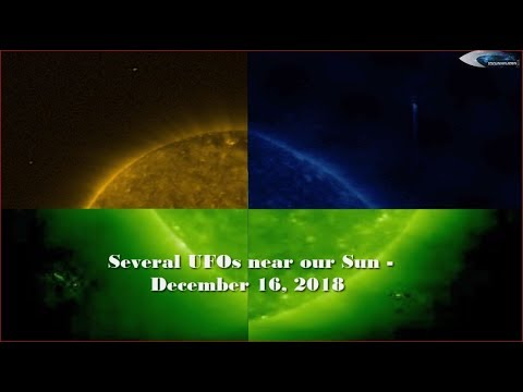 nouvel ordre mondial | Several UFOs near our Sun - December 16, 2018