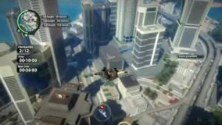 Just Cause 2 Basejump challenge Burj Panau