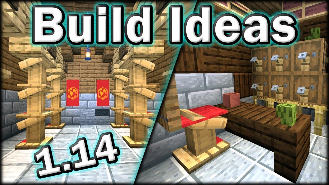 Minecraft 1 14 Build Ideas Tips And Tricks