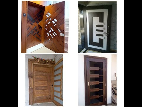 Modern door design for home decor 2018#13#by wood working idea