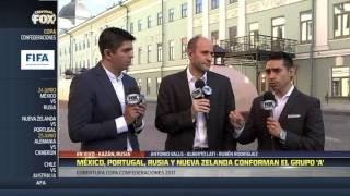 En Kazán hay rumores sobre el posible 11 inicial de México
