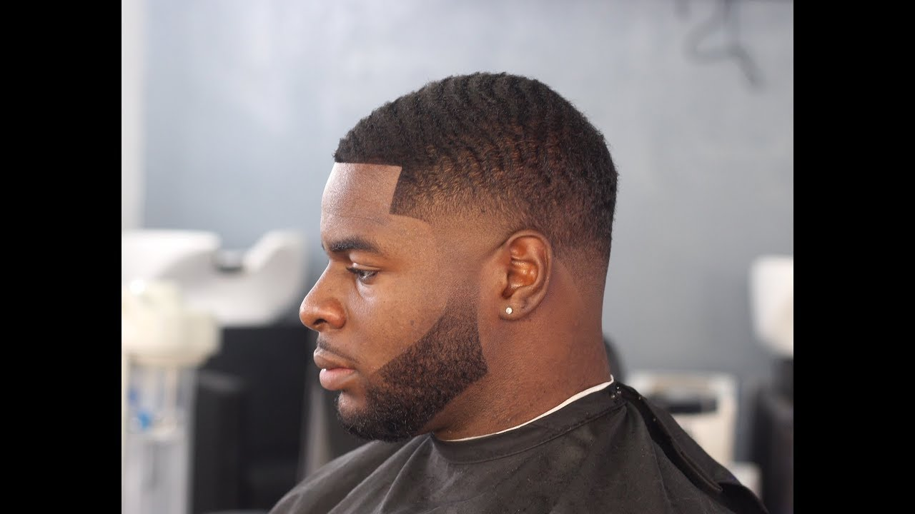 How To Taper Fade Waves W/Beard By Zay The Barber