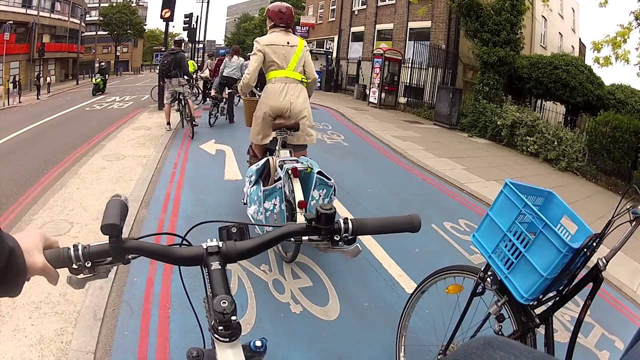 How to cycle in london