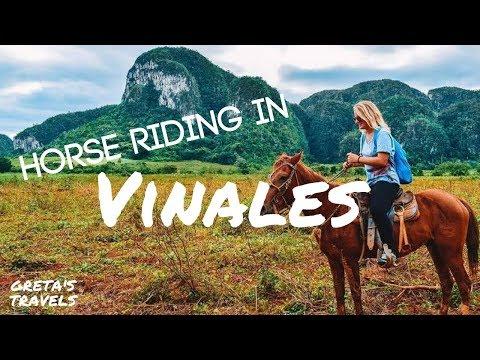 HORSE RIDING IN VINALES, CUBA