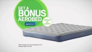 Snooze Aerobed Offer - Offer Valid Until 22 December 2013