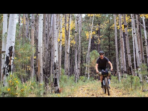 Bikepacking in Flagstaff, Arizona