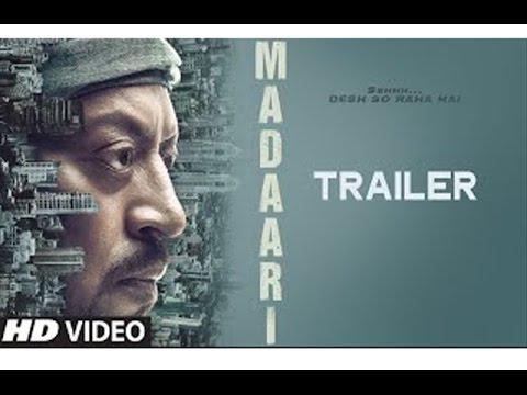 Madaari Official Trailer Out  | Irrfan...