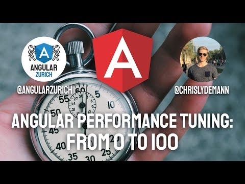 Thumbnail for Angular Performance Tuning: From 0 to 100