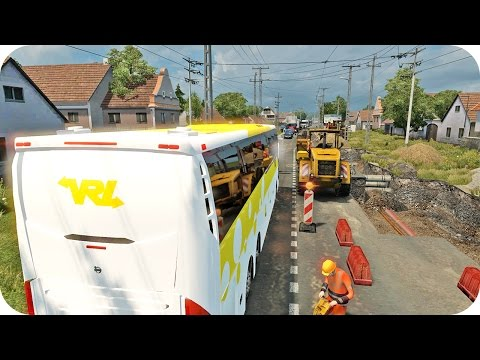 Bus Driving ETS2 (Euro Truck Simulator 2)