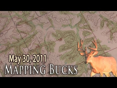 Midwest Whitetail | How To Read Topo Maps