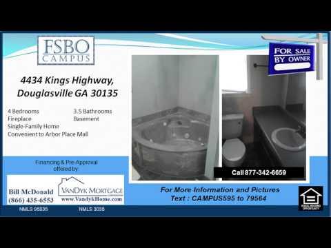 4 bedroom house for sale near Dorsett Shoals Elementary School in Douglasville GA