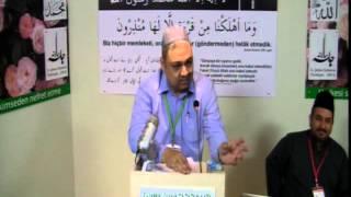 2012 Türkiye Calsası-Amaç ibadetin kendisi değil vermesi gereken neticedir