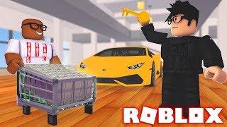 COMPRANDO um LAMBORGHINI todo o dinheiro em ROBLOX (Roblox jailbreak Wing Update)