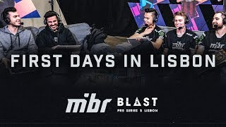 First Days in Lisbon - Blast Pro Series Lisbon (PT/BR Subs)