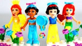 لعبة ليجو اميرات ديزنى للاطفال العاب تركيب المكعبات والشخصيات الكرتونية للبنات والاولاد