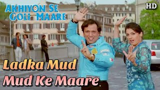 Ladka Mud Mud Ke Maare - Akhiyon Se Goli Maare (2002) Full Video Song *HD* (1080p)