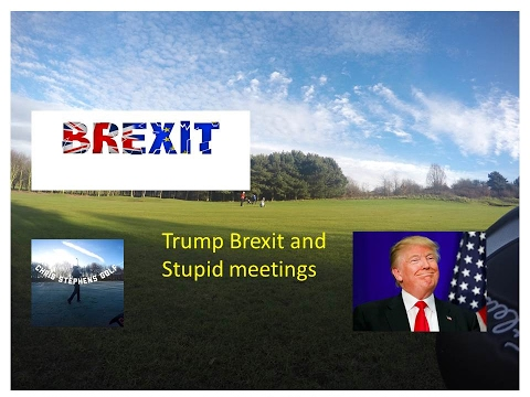 Trump Brexit and stupid meetings