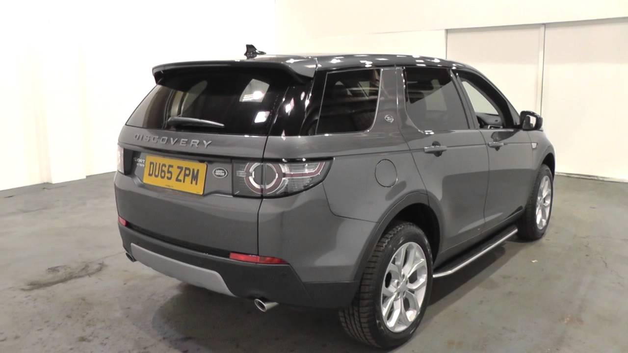 land rover discovery sport 2016my 7 seat hse manual u9219. Black Bedroom Furniture Sets. Home Design Ideas