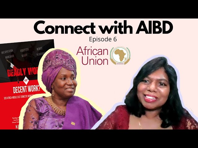 Connect with AIBD Episode 6 - The Light of Migrants, Dr Princess Kabuki Ocansey,
