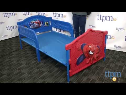 Marvel Ultimate Spider Man 3D Twin Bed From Delta Childrens Products