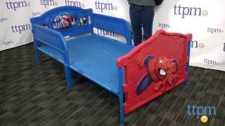 Marvel Ultimate Spider-man 3d Twin Bed From Delta Children's Products