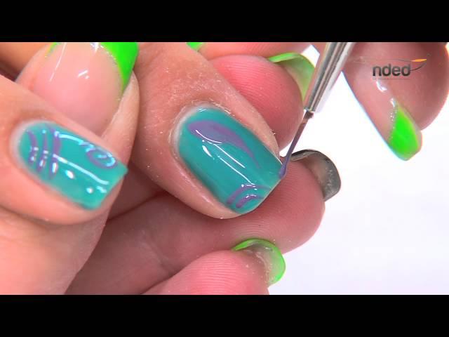 Nail Art with Gel Nail Polish for Summer Nail Designs | nded