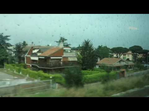 Going by Train from Rome to Naples, April 18, 2016