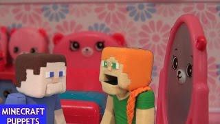Shopkins Dreamy Bear Bedroom Happy Places Playset Unboxing Review w/ Puppet Alex, Steve