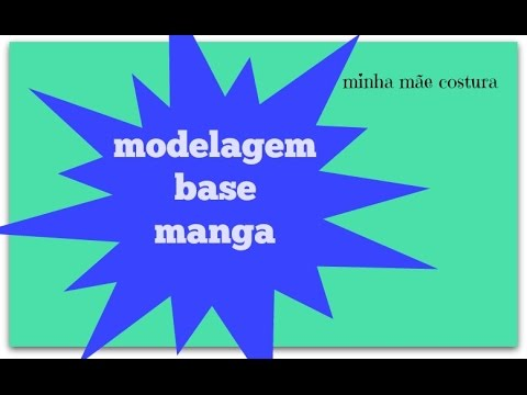 b558dd1a1 MODELAGEM BASE MANGA ADULTO - YouTube