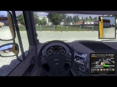 Euro Truck Simulator 2 Gameplay - Irány Stuttgart !