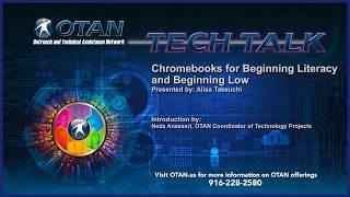 Otan Tech Talk - Chromebooks For Beginning Esl