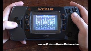 Classic Game Room - MS. PAC-MAN review for Atari Lynx