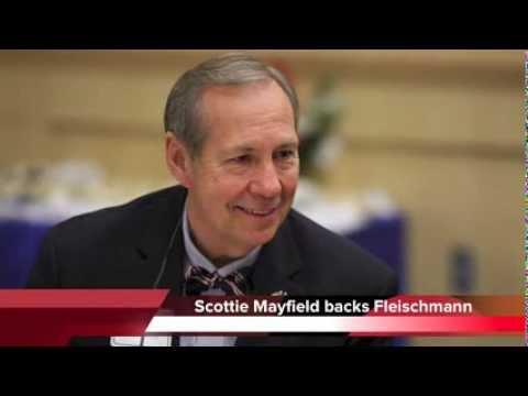 Why Scottie Mayfield supports Chuck Fleischmann