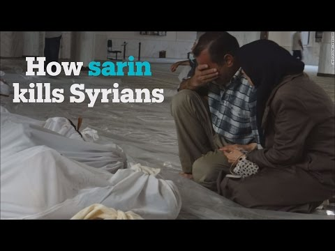 How Sarin gas is killing civilians in Syria