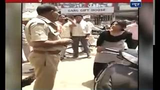 Watch LADY SINGHAM beat drunk police officer