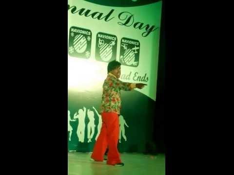 Jl srinivas Lovely Dance in Navionics Annaul Day celebrations