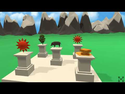 Learn Pi with a Memory Palace in Macunx VR