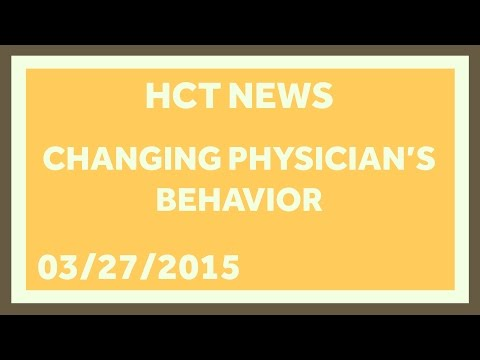 It's Hard to Change Physician Behavior: Healthcare Triage News