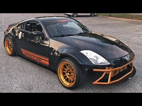 """""""Missle"""" 350Z Gets a LIVERY!"""