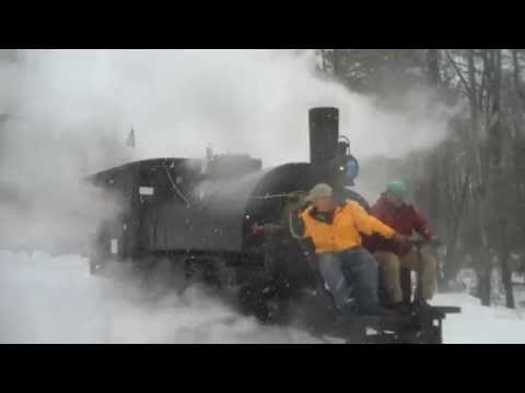 Lombard Log Hauler First Snow Run with Steam