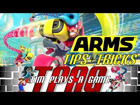 ARMS – Tips & Tricks (Nintendo Switch) – TPAG