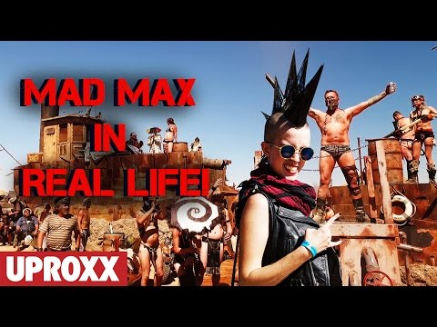 MAD MAX in RL? APOCALYPTIC WASTELAND WEEKEND | UPROXX Reports