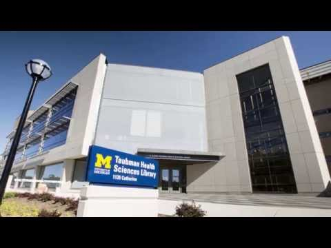 The U-M Taubman Health Sciences Library: A grand space for learning