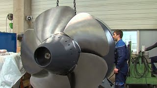 The Fabrication and Assembly The Super Huge Water Turbine