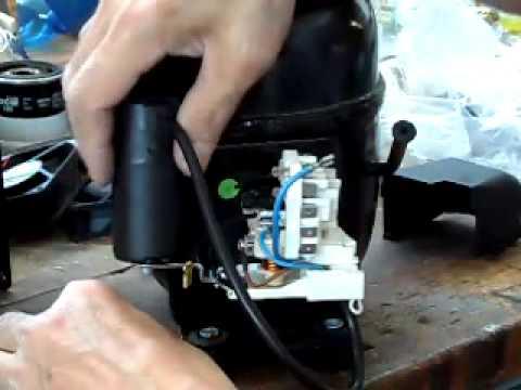 Montaggio Parti Elettriche Compressore Ne2130z Youtube