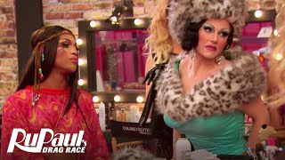 RuPaul's Drag Race | Darienne Lake & BenDeLaCreme Throwing Shade