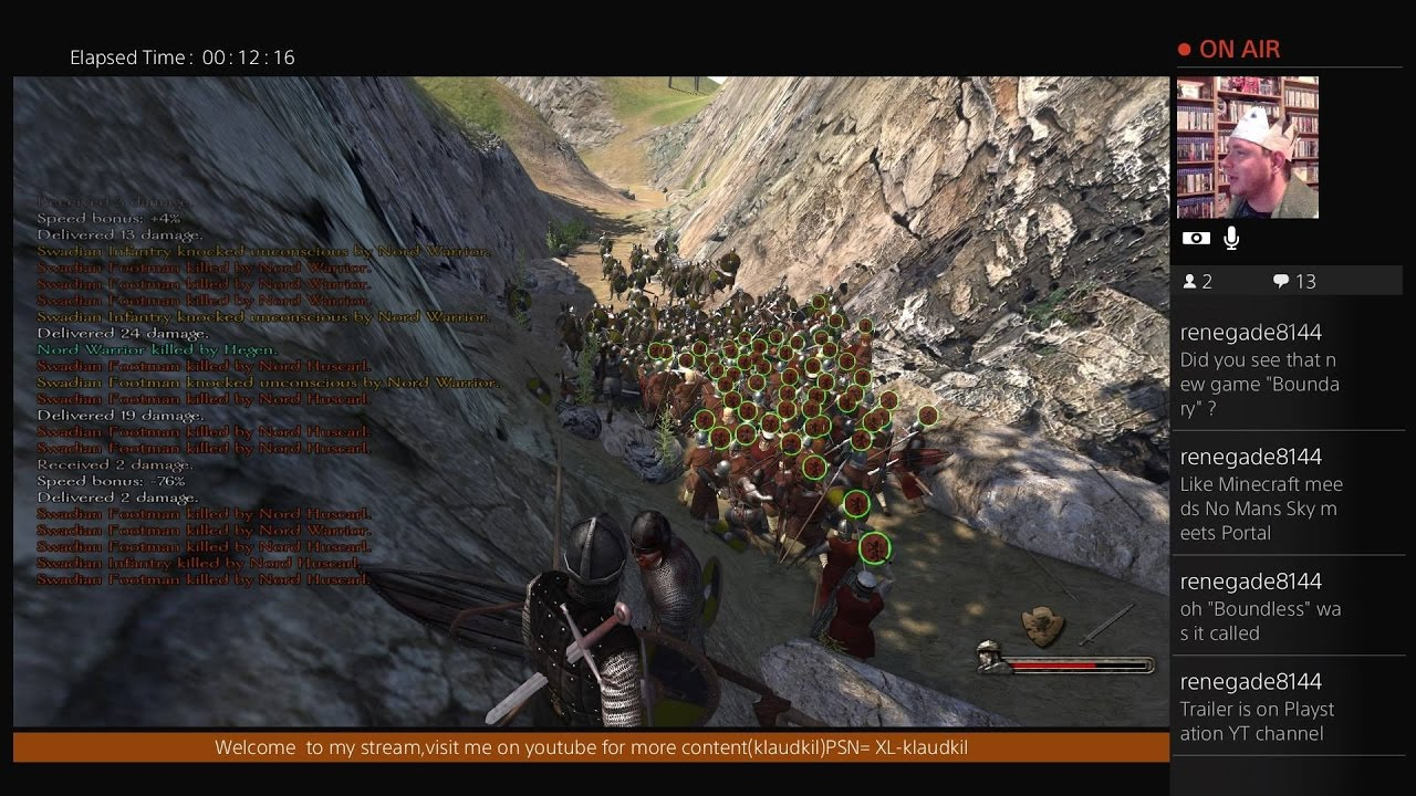 Mount & Blade: Warband PS4 - PATCH!!BIGGER BATTLE SIZE!! - YouTube