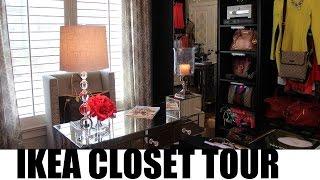 #ikea - Closet Room Tour 2015