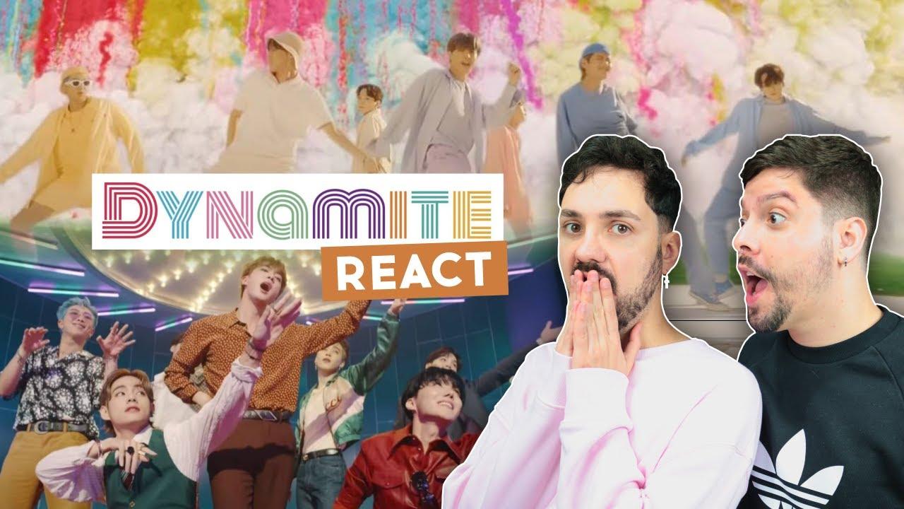 BTS (방탄소년단) 'Dynamite' Official MV PEDRUGO REACT