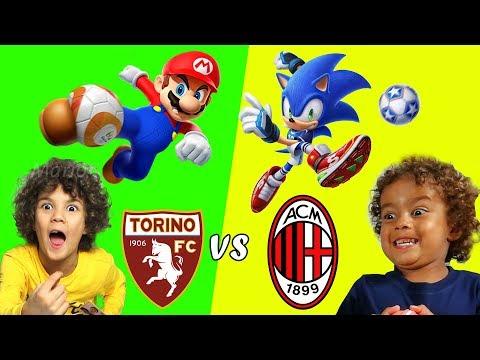 TORINO vs MILAN (Mario Sonic Calcio) *torino milan*